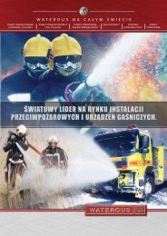 światowy lider na rynku instalacji przeciwpożarowych i ... - Waterous