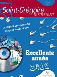Saint-Grégoire, le Mensuel Janvier 2012