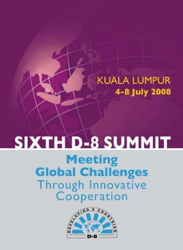 Summit 2008 Kualalumpur,Malaysia - Developing 8