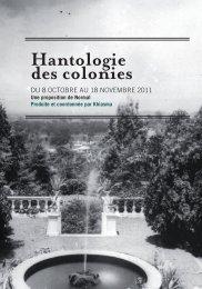 Hantologie des colonies - Khiasma