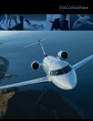 Challenger 605 Factsheet - Legacy Aviation Group