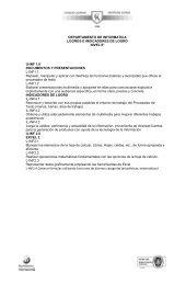 DEPARTAMENTO DE INFORMATICA LOGROS E INDICADORES ...