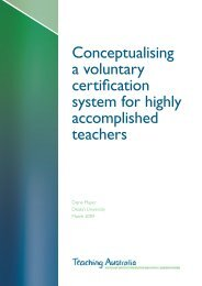 Conceptualising a voluntary certification system for highly ...