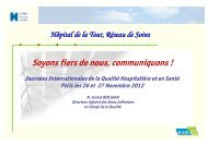 Journée internationale Qualité 2012 - JIQHS