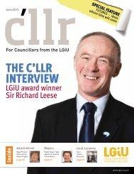 C'llr Magazine June 2012 - LGiU
