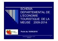 Copie de Bilan schéma 09 2010 - Tourisme en Meuse