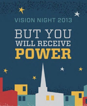 View the Vision Night program with 2PC vital signs. - Second ...