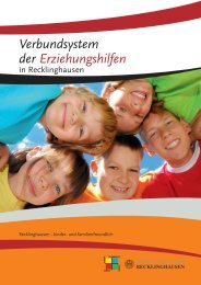 Verbundsystem der Erziehungshilfen - Stadt Recklinghausen