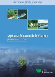 SAGE Vilaine.pdf - Syndicat Intercommunal du Bassin du Semnon
