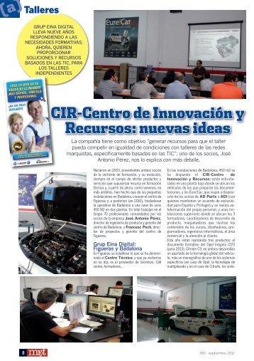 CIR-Centro de Innovación y Recursos: nuevas ideas - Mundo ...