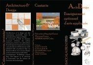 Plaquette ArchiDesign - Espace CARDIE