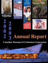 2003 - Canadian Museum of Civilization