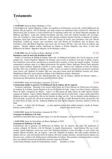 Testaments - Jean Delrieux