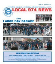 2010 October - UAW - Local 974