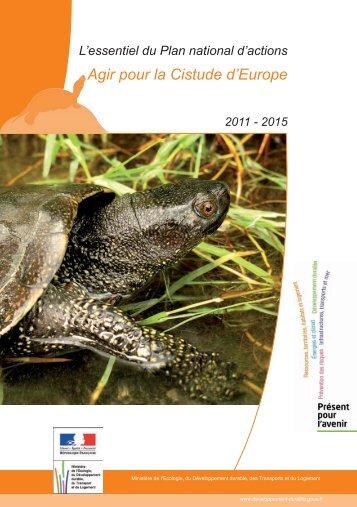 Plaquette PNA Cistude d'Europe - Société Herpétologique de France