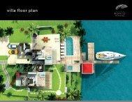 Floor Plan The Villas - sxm Luxury Properties