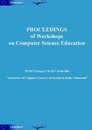 Download PDF version of Proceedings restricted on abstracts