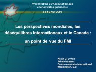 Kevin Lynch - Association des économistes québécois