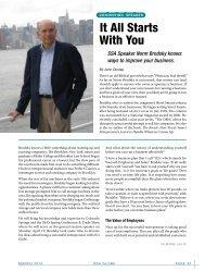 Speaker Profile: Norm Brodsky