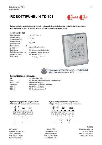 ROBOTTIPUHELIN TD-101