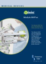 Module MVPMS - Fresenius Kabi