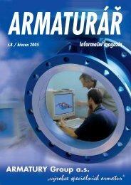 Armaturář č. 8 - ARMATURY Group a.s.