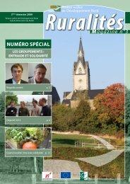 Magazine n°3 - Réseau wallon de développement rural