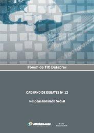 Caderno de Debates Nº 12 - Dataprev