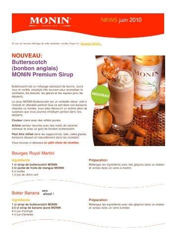 PDF «MONIN Newsletter Suisse», juin 2010