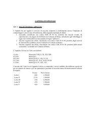 AMA - Gara organico - Allegato 5 - Capitolato Speciale DEF