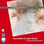 Les artistes et Ligier Richier - Tourisme en Meuse