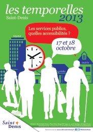 les temporelles 2013 - Université Paris 8