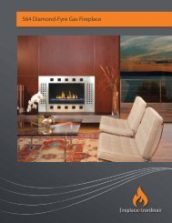 564 Diamond-Fyre Gas Fireplace - FireplaceX | Fireplaces