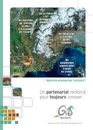 Un partenariat renforcé pour toujours innover - GIS Alpes Jura