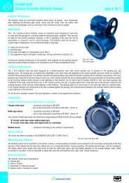 PRIMA DUO Double-Eccentric Butterfly Valves type L 32.7