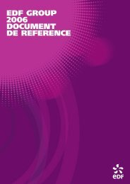Download the 2006 reference document - Shareholders and investors