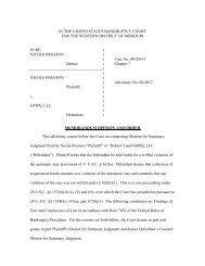 memorandum opinion and order - the Western District of Missouri