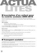 Juillet 2009 Bulletin municipal n°25 - Saint-Priest-sous-Aixe - Page 4