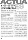 Juillet 2009 Bulletin municipal n°25 - Saint-Priest-sous-Aixe - Page 6
