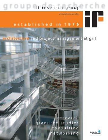 high resolution - grif - Université de Montréal