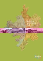 RAPPORT D'ACTIVITÉS 2012 - AUDESO
