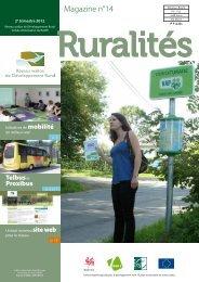 Magazine_Ruralités_n14 - Réseau wallon de Développement rural