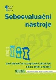 Sebeevaluační nástroje aneb Zhodnoť své kompetence ... - NIDM