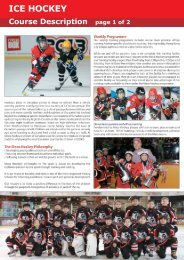 ICE HOCKEY - Canadian International School of Hong Kong