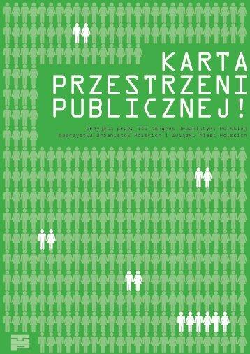 Karta Przestrzeni Publicznej - Towarzystwo Urbanistów Polskich