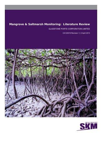Mangrove & Saltmarsh Monitoring - Western Basin Dredging and ...