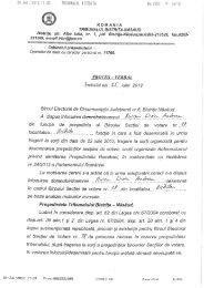 P. V al Tribunalului B-N din data de 25.07.2012