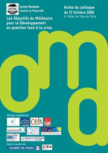 Actes du colloque AMCP 2009 - Crid