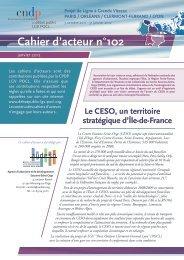 Cahier d'acteur n°102 - AUDESO
