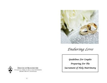 Enduring Love - Diocese of Manchester